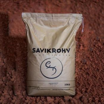 Savikrohv must /peenviimistlus 0-1 mm/ 25 kg