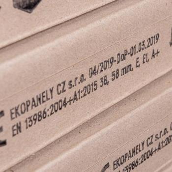 Põhuplaat 38x800x2500