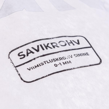 Savikrohv sinakashall /viimistluskrohv 0-1 mm/ 25kg